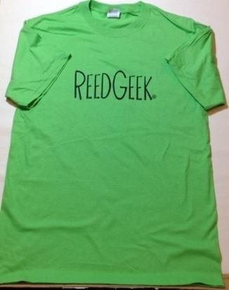 Unisex ReedGeek Lime Green T-shirt