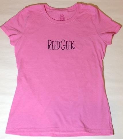 ReedGeek Ladies' Pink Cotton T-shirt