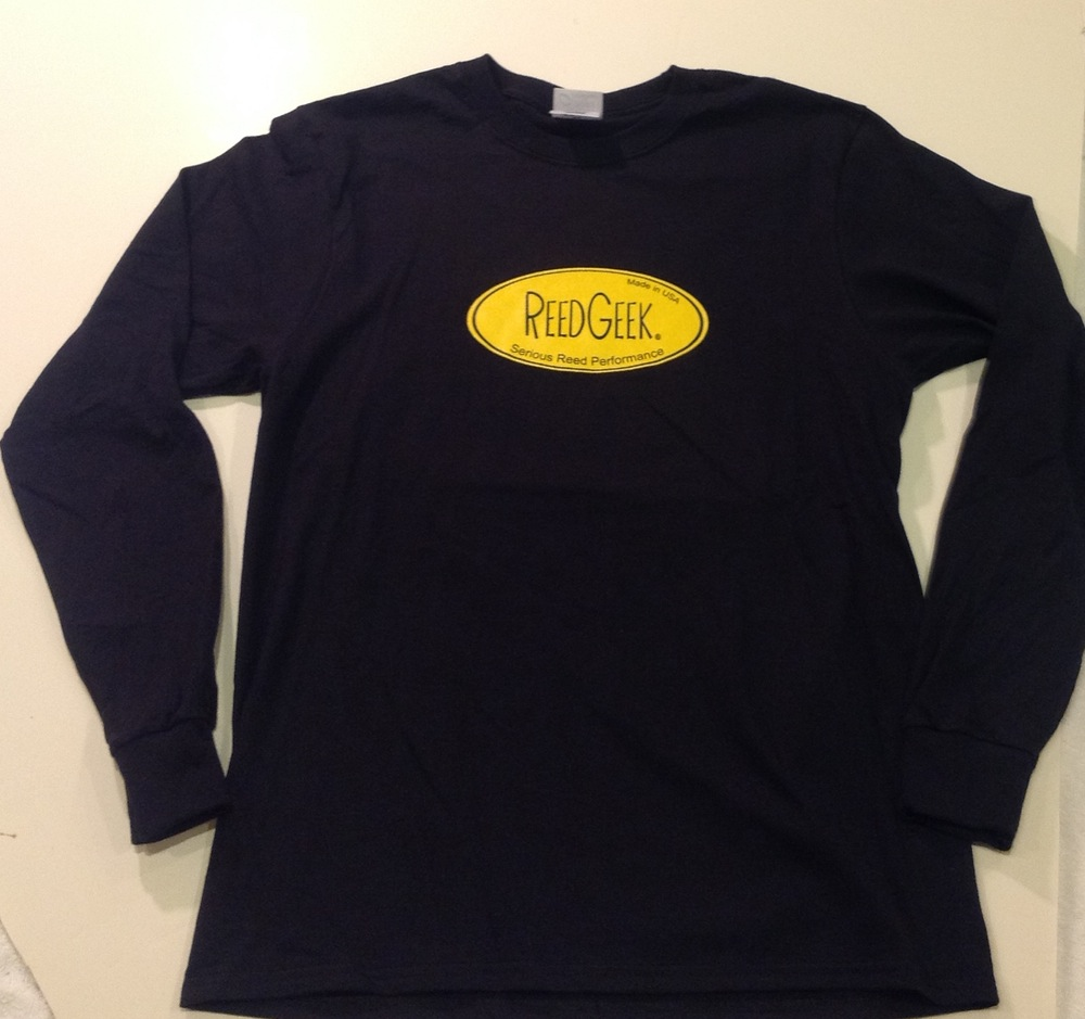 ReedGeek Retro Yellow-Oval Long-Sleeve T-shirt